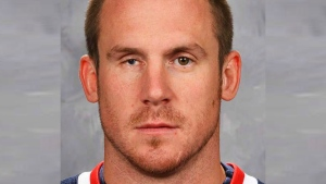 Columbus Blue Jackets hockey defenceman Bryan Berard is shown in a 2005 file photo. (The Columbus Dispatch / AP)
