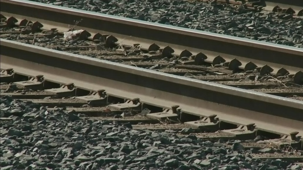 Railway trains train tracks