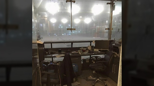 A Turkish official says two explosions have rocked Istanbul's Ataturk airport, wounding multiple people. (Twitter / @ruchankayrim)