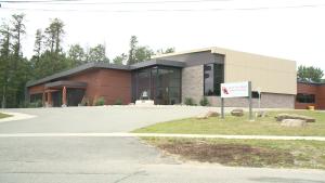 Ontario North East School Board building in Schumacher, Ont.