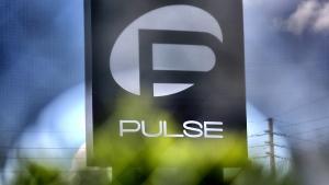 At the Pulse nightclub in Orlando, Fla., on June 23, 2016. (Joe Burbank / Orlando Sentinel via AP)