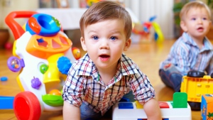 Children were more likely to develop childhood cancer if they lived in germ-free environments and had little interaction with other children, according to the study. (Olesia Bilkei/shutterstock.com)
