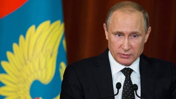 Russian President Vladimir Putin in Moscow, Russia, on June 30, 2016. (Ivan Sekretarev / AP)