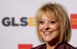 In this Friday, Oct. 21, 2014, file photo, television host Nancy Grace arrives at the 7th annual GLSEN Respect Awards in Beverly Hills, Calif.  (AP / Matt Sayles)