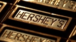 This July 25, 2011 photo shows Hershey's chocolate in Overland Park, Kan. (Charlie Riedel/AP)