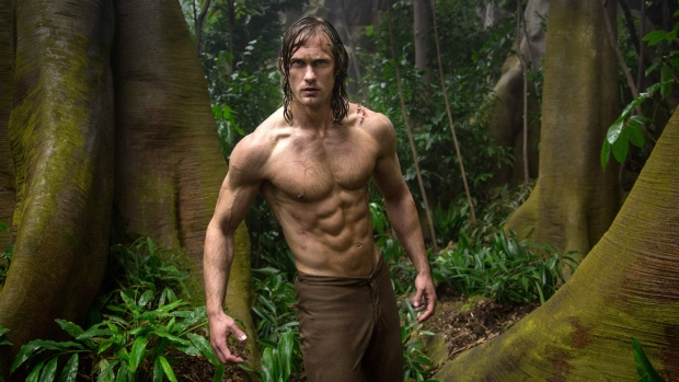 Alexander Skarsgard is seen in this scene from 'The Legend of Tarzan.' (Jonathan Olley / Warner Bros. Entertainment)