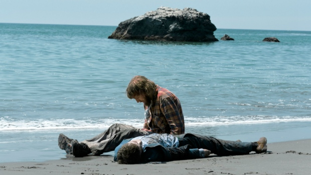 Paul Dano and Daniel Radcliffe in 'Swiss Army Man.'
