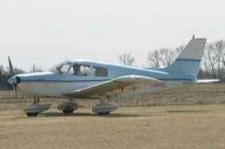 Piper PA 28 plane