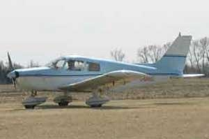 A file image of a Piper PA 28 plane, the same kind that crashed near Deacon's Road and Highway 15 on Friday, July 1, 2016. (Source: Springfield Flying Club)