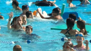 Swimming lessons are not enough to keep children from drowning, says a safety expert. That takes a vigilant parent.