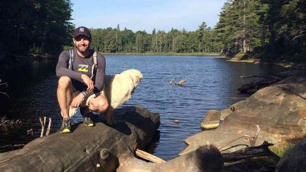 Man paddles 100 Algonquin Park lakes