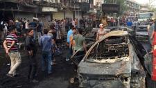 Baghdad, Iraq, bombing