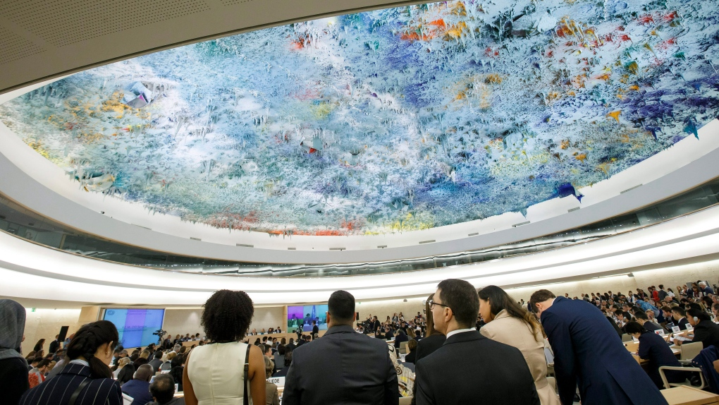 SWITZERLAND UN HUMAN RIGHTS COUNCIL