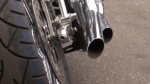 Some modifications to a motorcycle's exhaust pipe can cause excessive noise. Vancouver police are cracking down on noisy vehicles this summer.