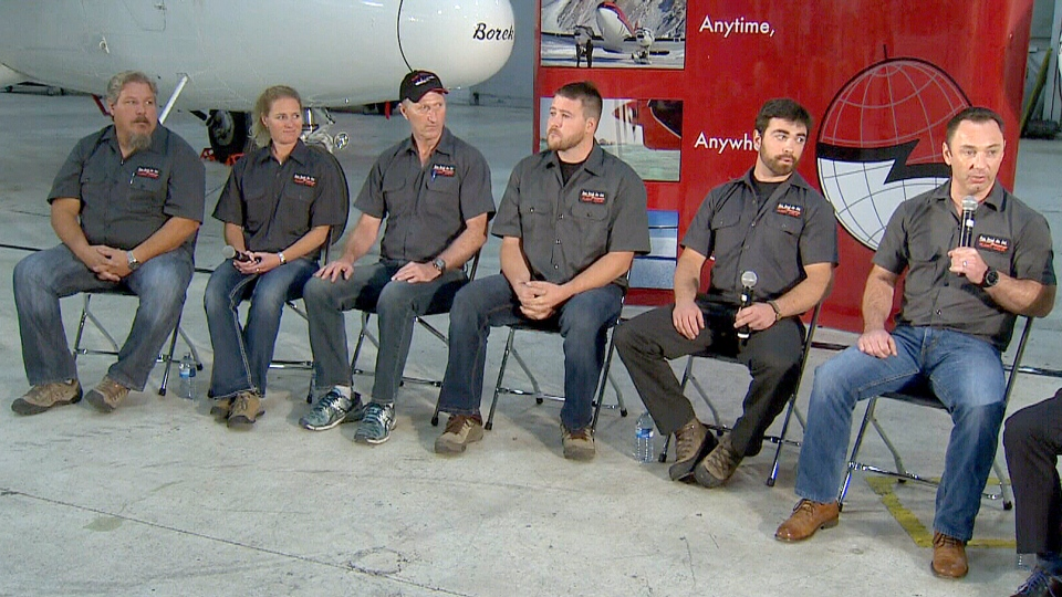 The Kenn Borek flight crew shared details of their risky South Pole rescue mission, July 5, 2015.