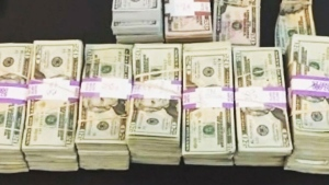 Stacks of money are shown in this file photo.