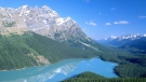 A view of Peyto Lake in Banff National Park is shown in this undated handout photo. (THE CANADIAN PRESS/HO - Travel Alberta)