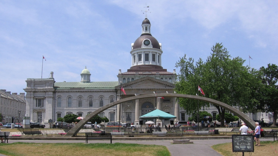 A view of Kingston, Ont. city hall.  (Andrew MacKinnon /Flickr)
