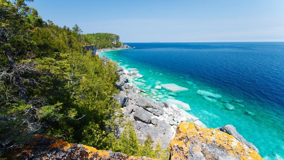 Bruce Peninsula in Ontario. (Florin Chelaru / Flickr)