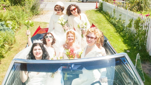 A newly-launched wedding planning and consultation service based in Vancouver is helping single women celebrate themselves with elaborate ceremonies. (Marry Yourself Vancouver / Facebook)