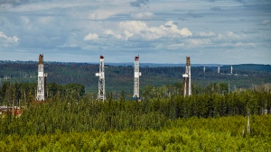 Kakwa River Project, approximately 100 km south of Grande Prairie, Alta. (Seven Generations Energy Ltd.)