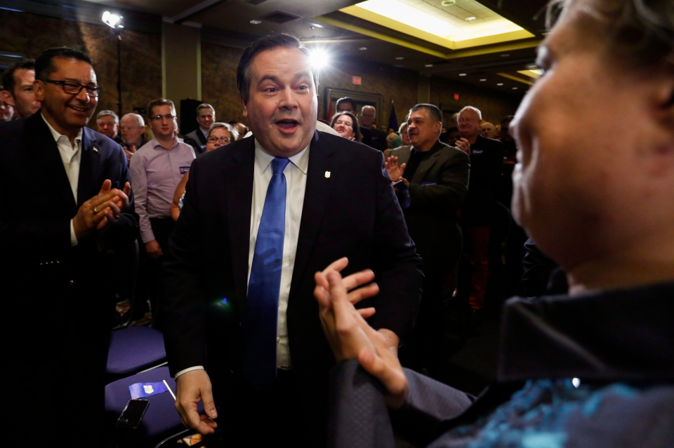 Alberta Conservative MP Jason Kenney arrives at an event announcing he will be seeking the leadership of Alberta's Progressive Conservative party in Calgary, Alta., Wednesday, July 6, 2016. (THE CANADIAN PRESS/Jeff McIntosh)