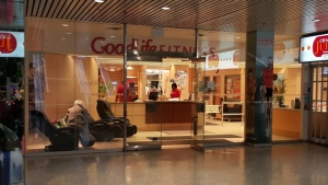 A GoodLife Fitness club inside a mall in midtown Toronto is pictured. (Google)