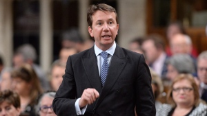 Treasury Board President Scott Brison