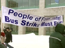 Religious groups have joined the call to end the 48-day public transit strike in the capital.