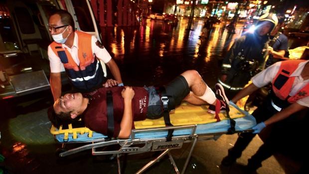 Taiwan train blast injures dozens