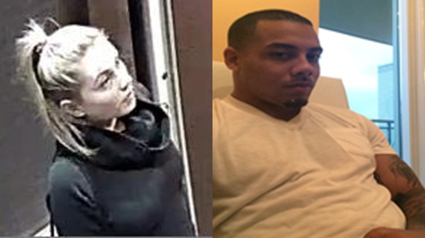 Sarah Poole and Devon Victor are shown in these photos provided by Waterloo Regional Police.