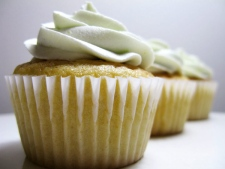 Lime buttercream cupcakes (THE CANADIAN PRESS / Handout)