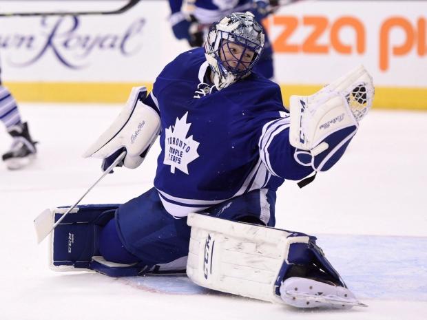 Ducks acquire G Jonathan Bernier from Toronto for draft pick