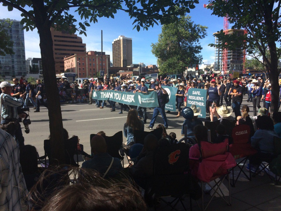 Calgary Stampede Parade Honours Fort Mcmurray First