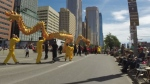 The Calgary Stampede Parade officially kicks off the event for 10 days of Western music and fun at Stampede Park.