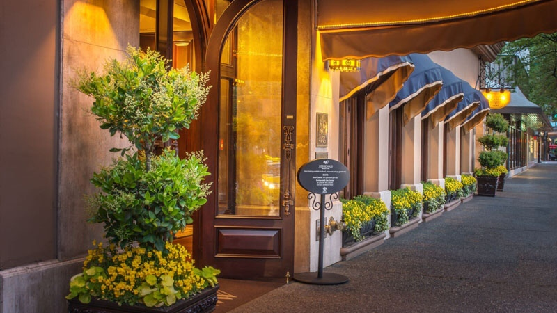 Vancouver's Wedgewood Hotel and Spa was named fifth-best hotel on a recent list ranking the top hotels in Canada. (Wedgewood Hotel and Spa)