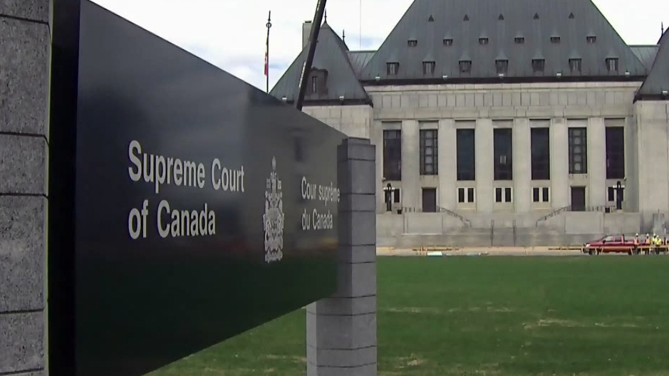 The Supreme Court of Canada in Ottawa, Ont.
