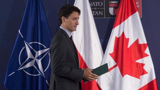 Trudeau NATO