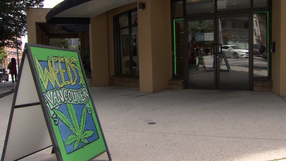 Weeds Glass and Gifts owner Don Briere said he's expecting the injunction on Monday, and planning to fight it in court. (CTV)