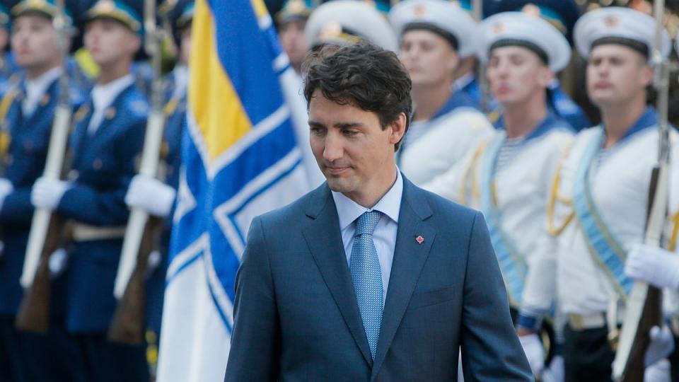 Prime Minister Justin Trudeau in Ukraine