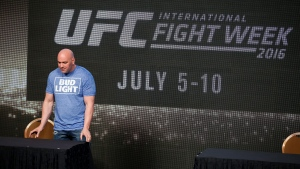 UFC president Dana White attends a news conference for UFC 200, Friday, April 22, 2016, in Las Vegas. (AP / John Locher)