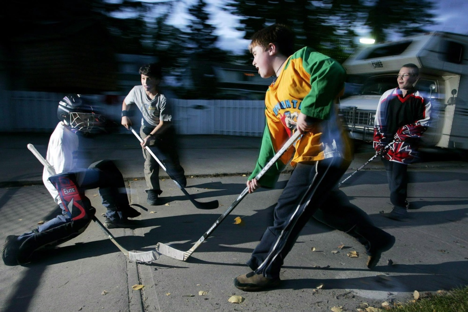 road hockey