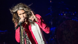 "Promoting his imminent solo country album, ""We're All Somebody from Somewhere,"" Steven Tyler mixed new songs with Aerosmith classics like ""Sweet Emotion"" and ""Cryin.'"" Photos by Anil Sharma."