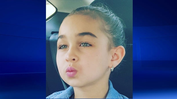 Taliyah Leigh Marsman, 5, is seen in this undated photo provided by the Calgary Police Service.