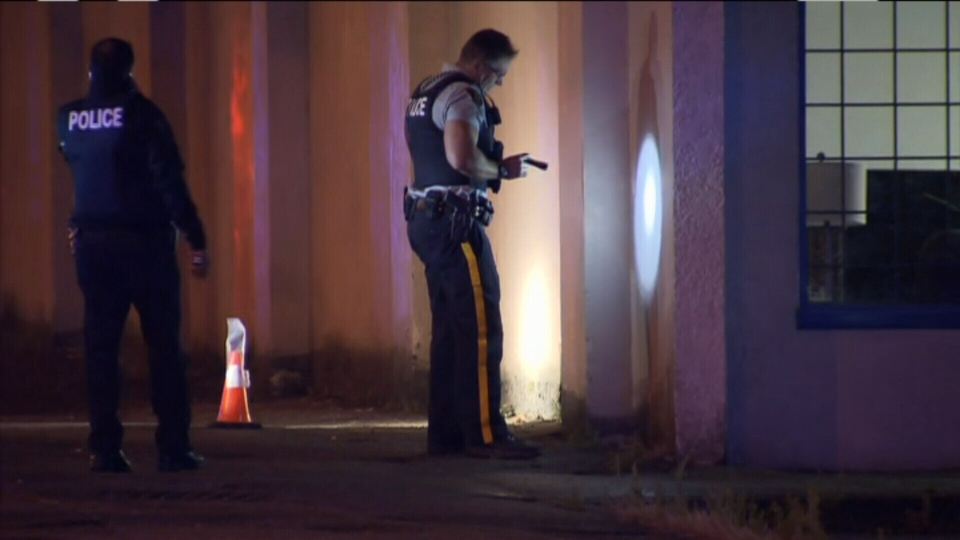 One man was rushed to hospital with serious injuries after a shooting in Surrey early Tuesday morning. (CTV News). July 12, 2016.