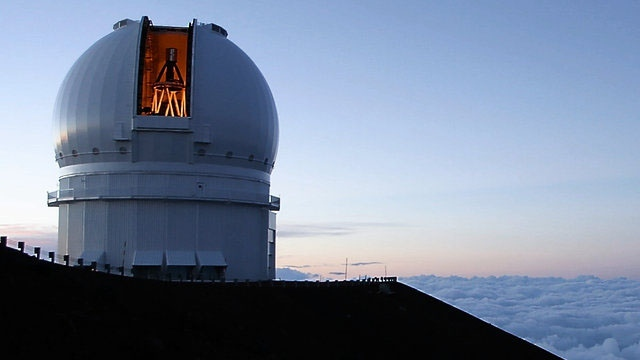 The Canada-France-Hawaii Telescope is shown in this file photo. (CFHT)