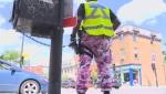 Montreal police camo pants