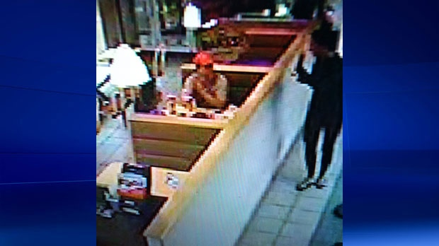 Police have obtained CCTV footage from the Dairy Queen restaurant on Sandarac Dr. N.W and would like to identify this family.