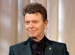In this June 5, 2007 file photo, singer David Bowie accepts the lifetime achievement award at the 11th Annual Webby Awards in New York. (AP / Stephen Chernin)