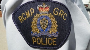 An RCMP badge is seen in this undated file photo. (File photo)